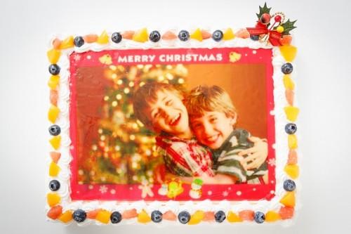 クリスマスケーキ2017 フォトフルーツパーティ 30×30cm