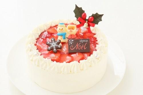 クリスマスケーキ2018 苺のデコレーション 5号 15cm