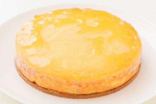 卵・乳製品・小麦粉・ナッツ除去 チーズケーキ風ホールケーキ 5号 15cm
