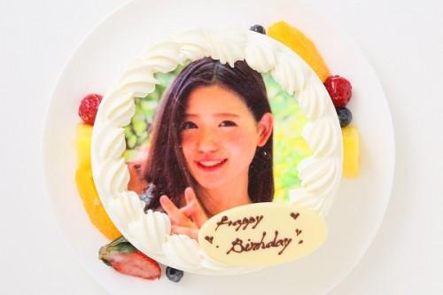 フォト生デコレーションケーキ 5号 15cm