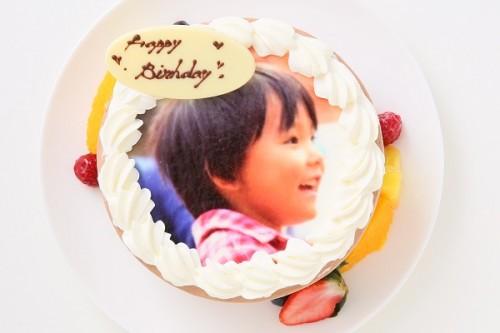 フォトチョコ生デコレーションケーキ 5号 15cm