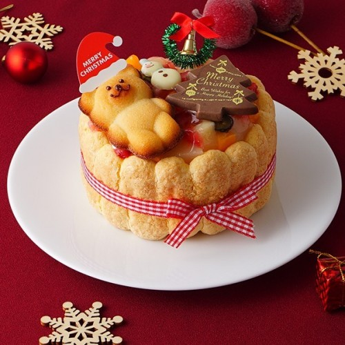 クリスマスケーキ2019 ファーストバースデーケーキ ホイップヨーグルトクリーム  4号 12cm