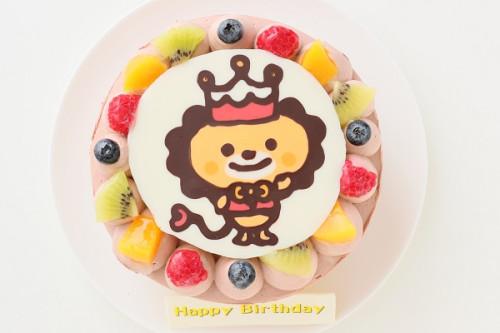 イラストケーキ チョコ 4号 12cm
