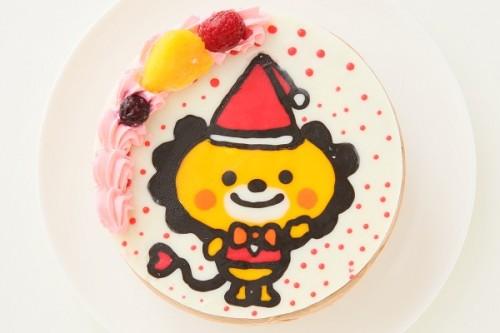 クリスマスケーキ2017 イラストケーキ チョコ生 5号 15cm