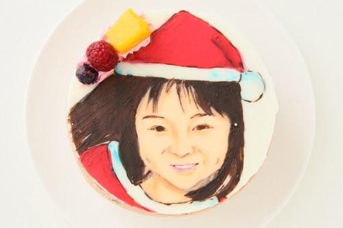 クリスマスケーキ2017 似顔絵ケーキ チョコ生 5号 15cm