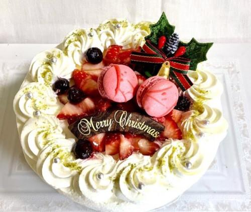 クリスマスケーキ2018 オリジナルブレンドのふんわり生クリームのイチゴショート 5号 15cm