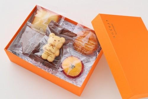 焼菓子 5種5個セット(こぐまちゃん、フリアン、ガレット、ハートサブレ、さつまいも)
