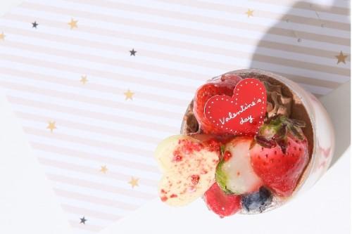 バレンタインchocolatカップ