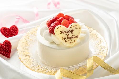 バレンタイン イチゴデコ 3号 9cm