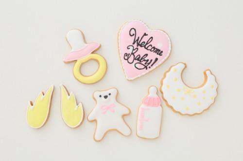 出産祝いクッキー 7枚1セット