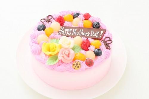 母の日 お花畑のケーキ 5号 15cm