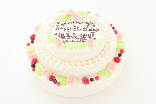 3段ケーキ 10号x8号x6号