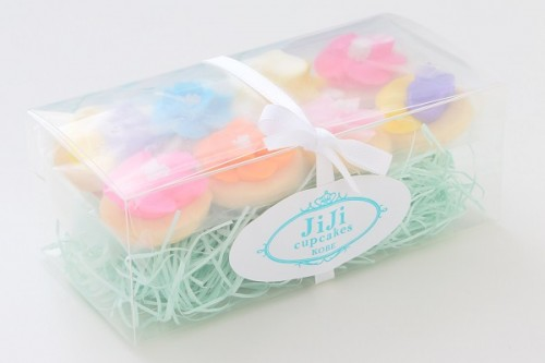パーティーや結婚式などのプチギフトにも選ばれるお花アイシングクッキーセット