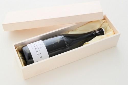 【名入れ酒】ラベルがオシャレな赤ワイン