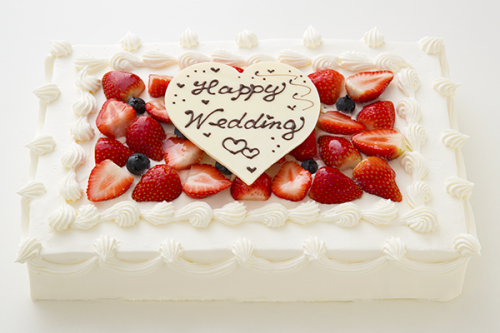 イチゴたっぷりパーティデコレーションケーキ 30×20cm
