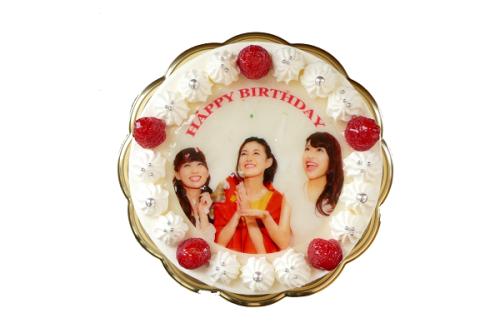 写真ケーキ 4号 12cm