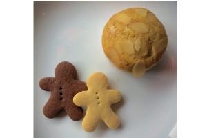 焼菓子ミニギフト500★マフィン1個とクッキー2枚★小さな贈り物に★国産小麦使用