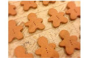 くろちゃんクッキー★10枚入り★国産小麦 有機ココアパウダー使用★卵不使用★