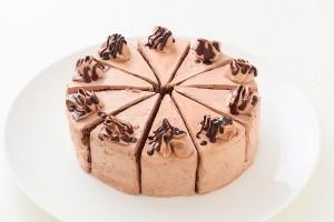 カットケーキ チョコ 4号 12cm