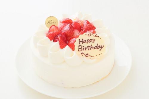 いちごのデコレーションケーキ 5号 15cm