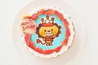 キャラクター2体まで キャラクターチョコ生デコレーションケーキ 5号 15cm