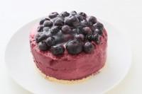 ブルーベリーのアイスケーキ 4号 12cm