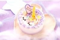 ユニコーンケーキ 4号 12cm