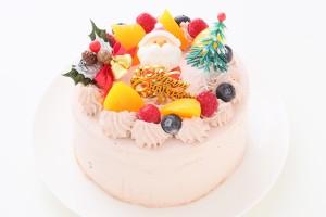クリスマスケーキ2018 卵・乳製品・小麦粉・大豆除去可能  クリスマスケーキ チョコクリーム 4号 12cm