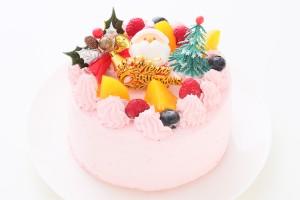 クリスマスケーキ2018 卵・乳製品・小麦粉・大豆除去可能  クリスマスケーキ ストロベリークリーム 4号 12cm