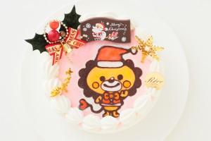クリスマスケーキ2018 クリスマスキャラクター生デコレーションケーキ 4号 12cm