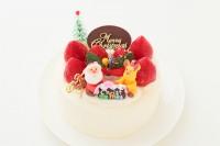 クリスマスケーキ2019  クリスマスケーキ 5号 15cm