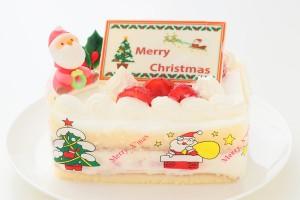クリスマスケーキ2019 苺デコ 5号 15cm