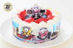 生デコレーションケーキ 仮面ライダージオウ 5号 15cm