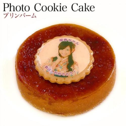 写真ケーキ プリンバーム 5号
