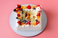 フォトフルーツデコレーション 5号 15cm クリスマスケーキ2020