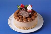 クリスマスケーキ2020 ショコラクリーム 4号 12cm