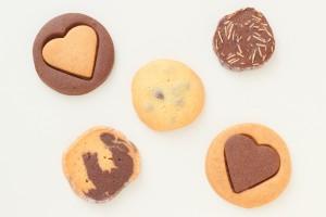 バレンタイン アソートクッキー 5枚入り