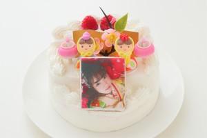 ひなまつり2019 ひな壇お雛様ケーキ 4号 12cm