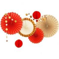 【これ1つで!】記念日,ひな祭り,和装ウェディング,装飾 和風デコレーションセット 紅