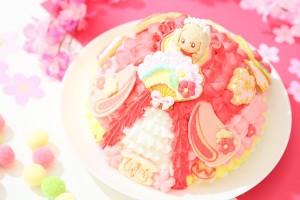ひなまつり2019 十二単ケーキ 5号 15cm