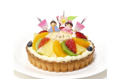 ひなまつり2020 ひな祭りタルト 4号 12cm tart-4-hina