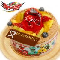 キャラデコお祝いケーキ 騎士竜戦隊リュウソウジャー チョコクリームショートケーキ 5号 15cm