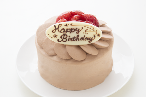 イチゴ生チョコデコレーションケーキ 4号 12cm