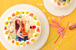 写真ケーキ 丸型 5号 15cm