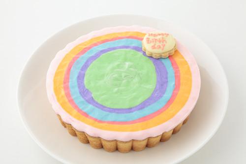 レインボーチーズケーキ 5号 15cm