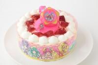 生デコレーションケーキ スター トゥインクルプリキュア 5号 15cm