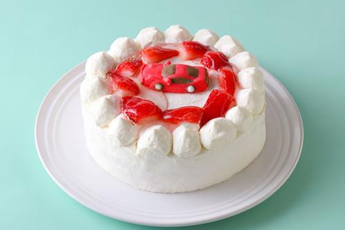 生デコレーションケーキ 車 5号 15cm