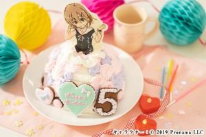 キャラチョコドールケーキ 5号 15cm