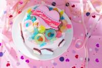 キラキラ宝石ケーキ 5号 15cm