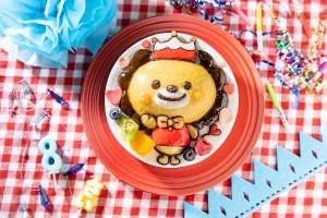 立体生デコキャラクターケーキ 5号 15cm